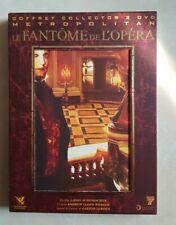 LE FANTÔME DE L'OPÉRA COFFRET COLLECTOR 2 DVD COMEDIE MUSICALE VOIX MUSIQUE ART