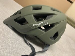 Smith Venture Mountain Biking helmet OD green, Small, New Without Tags