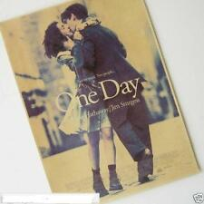 H378 One Day Classic Movie Vintage Poster Kraft Paper Poster Bar Room Decorate