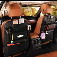 [NT] Car Seat Back Storage Bag Organizer Travel Box Pocket PU Leather Universal