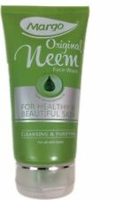 3 x 50g Margo Original Neem Face Wash For Healthy Beautiful Skin Cleasning
