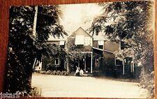 c. 1916 SARNIA, ON, WOODROWE BEACH HOUSE REAL PHOTO POSTCARD RPPC