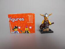 Lego® Minifiguren Sammel Serie 4  Nr.6 mit BPZ und Platte