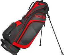 Ogio Golf Press Stand Bag Vortex/Red