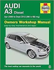 Haynes AUDI A3 8P (08-12) FACELIFT TDI Owners Service Workshop Manual Handbook