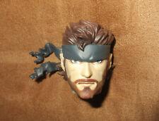 Metal Gear Solid 3 Medicom real Action Heroes Snake Head cabeza para figura de acción