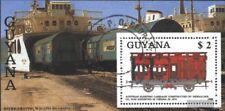 Guyana Block35 (kompl.Ausg.) gestempelt 1989 Eisenbahn