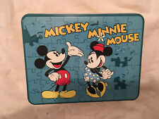 Fossil Mickey and Minnie Mouse Watch Puzzle Tin