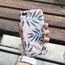 For iPhone 5 6s 7 8 XS Max XR Case Shockproof Ultra Thin Pattern Hard Back Cover