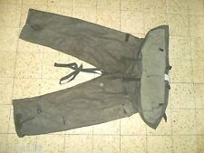 Idf Zahal RABINTEX NBC Charcoal Protective Pants. Rare Made in Israel. Military