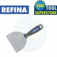 REFINA 6in Plastering Spatula Taping Knife 150mm Stainless Steel Blade 765006