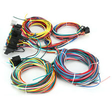 Universal Wiring Harness Street Rat Hot Rod Chevy Ford Gm Ford Mopar 21 Circuit