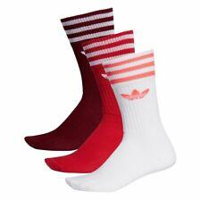 Socks adidas Solid Crew Maroon Men