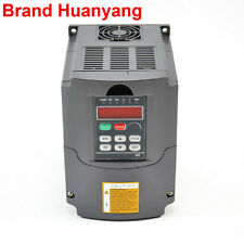 NEWEST 110V 1.5KW 2HP VARIABLE FREQUENCY DRIVE INVERTER VFD TOP QUALITY