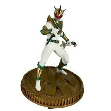 SHIPS NOW MMPR Power Rangers Green white Drakkon figure Statue PCS Pop Culture