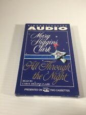 All Through the Night by Mary Higgins Clark (1998, Cassette, Abridged)