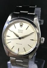 Vintage Rolex Oyter Royal With Rivited Bracelet In Great Original Condition
