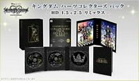 PS3 Game Kingdom Hearts Collectors Pack HD 1.5 + 2.5 Remix USED Japan