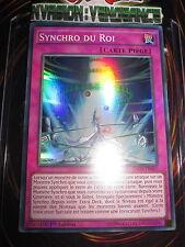 YU-GI-OH! SUPER RARE SYNCHRO DU ROI INOV-FR067 FRANCAIS EDITION 1 NEUF MINT
