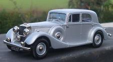 Lansdowne Models 1936 Railton Cobham Saloon Silver NEW COLOUR