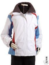 NILS New Ski Snow TORI JACKET PARKA womens 8 WHITE
