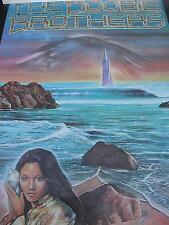 1977 Doobie Brothers poster Terry Lamb art Portal Publications rare PBX1376