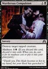 Murderous Compulsion NM X4 Shadows Over Innistrad MTG Black Common