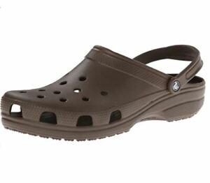 Original Classic Crocs Mens Clog - Chocolate - USED