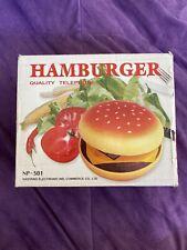 Used Hamburger Quality Telephone Juno Novelty Item