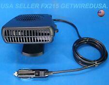 12-VOLT LIGHTER CAR HEATER PORTABLE VEHICLE DEFROSTER SAFE CERAMIC HEATING
