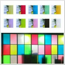 Frosted Window Glass Films Self Adhesive Heat Insulation Stickers Privacy White