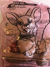 Taco Bell Lot of 3 Chihuahua Talking Dog Collectible Plush Sealed All Working!
