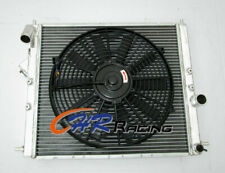 Aluminum radiator+Fan for Renault Clio 16S / Williams 1.8L/2.0L 16V F7R 93-96 MT