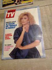 SETTIMANA TV N°48 1987 CARLUCCI FOUR E UAN CIAO CIAO BIM BUM BAM TV
