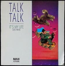 *** MAXI 45T TALK TALK - IT'S MY LIFE (US MIX) * EMI RECORDS/PRESSAGE FRANCE ***