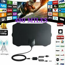480 Mile Range Antenna TV Digital HD HDTV 1080p Skywire 4K Antena Digital-Anten