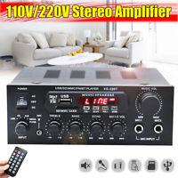 1000W 110-220V 2CH Bluetooth HiFi Home Audio Empfänger Stereo Verstärker Echo 1