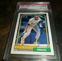1992 O-Pee-Chee Oakland Athletics Baseball Card #691 Walt Weiss PSA 10 GEM MINT