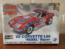 """Revell 1:25 No: 85-4915   '68 Corvette L88 """"Rebel"""" Racer  Plastic Modelkit 2011."""