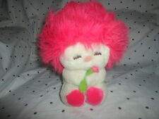 "Fun Farm 1984 Frou Frou 8"" Pink Plush Soft Toy Stuffed Animal"