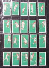 1939 John Player Cigarettes TENNIS Tobacco Cards SET of 50 VG/FN 5.0