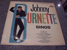"Johnny Burnette ""Sings"" LIBERTY LP #LST-7190 W/TRI-FOLD & LIBERTY INNER SLEEVE"