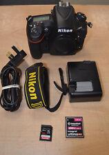 Nikon D810 36.3MP Digital SLR Camera - Black very Low Shutter Count 1245