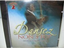 DANSEZ NON STOP TITRES ENCHAINES V-2, Orchestra Del Sol SMM Sony Music Media NEW