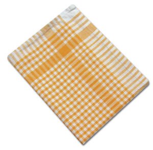 Pack of 10 Large Colour Check Tea Towel Dish Drying Heavy Cleaning Cloth Halblei