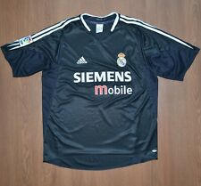 Real Madrid Vintage 2004-2005 Simens Away Shirt Jersey Maglia Camiseta sz L
