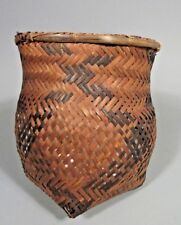 South America Amazon River Basin Peoples Cassava Woven Basket ca. 20th century