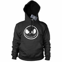 Jack Skellington Halloween Hoodie Nightmare Before Christmas Pumpkin face 385