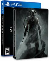 The Elder Scrolls V : Skyrim - Limited Edition SteelBook Bundle - PlayStation 4