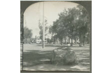 The Site Of The Old Belfry Stereoview